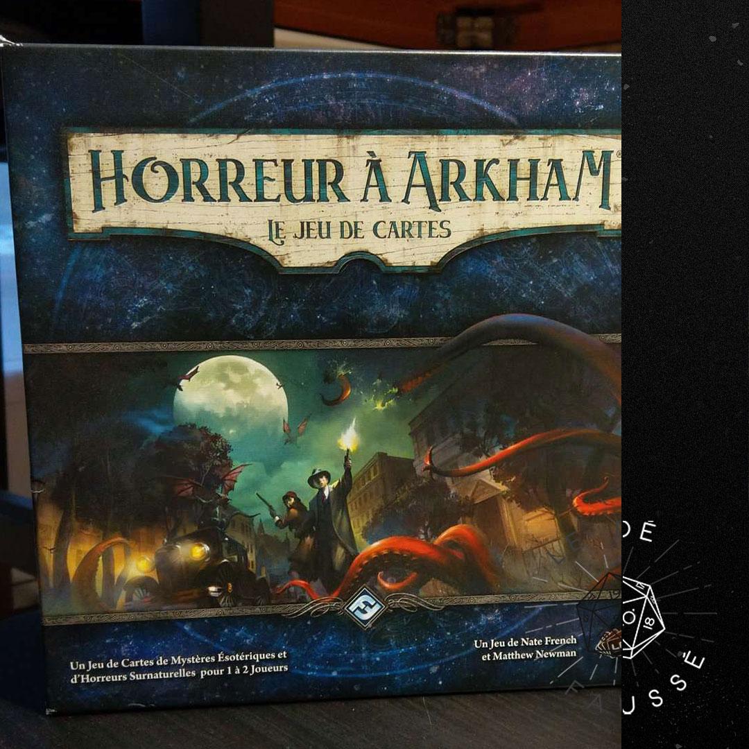 132 - Horreur À Arkham : Le Jeu de Cartes