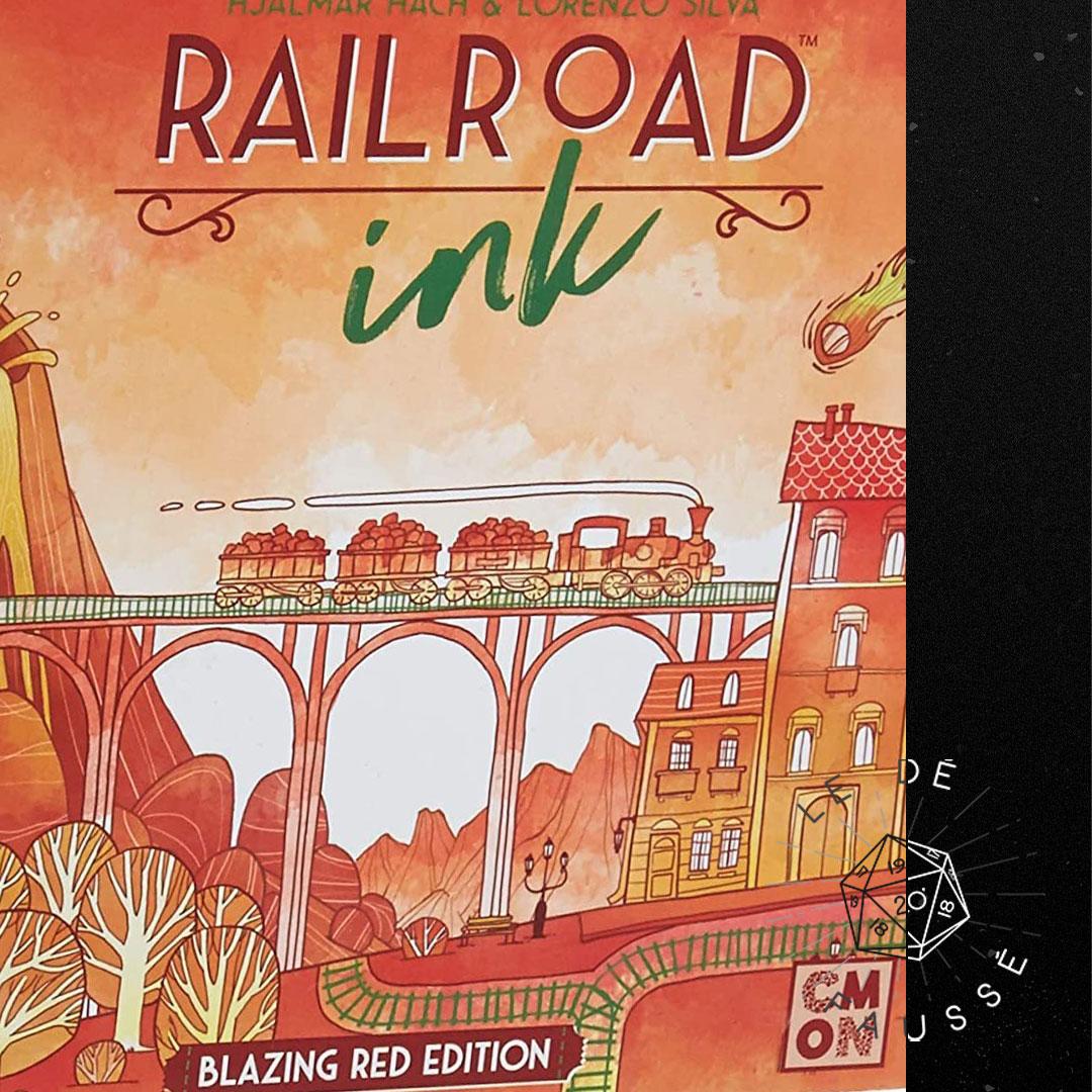 133 - Railroad Ink